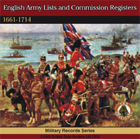 English Army Lists and Commissions Registers 1661-1714