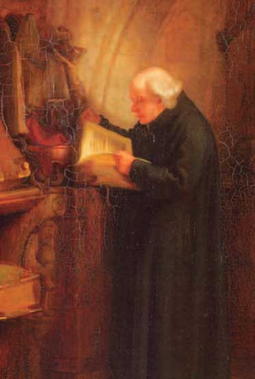 Painting of a Clergyman
