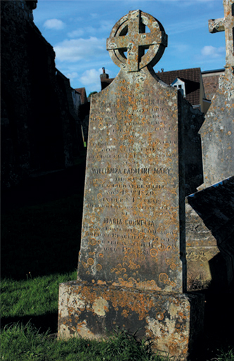 A Waterloo Veteran's headstone