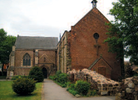 The Abbey Church of St Mary the Virgin, Nuneaton