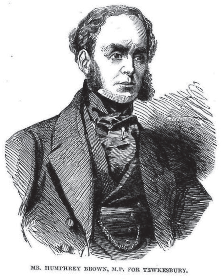 Mr Humphrey Brown MP in 1853
