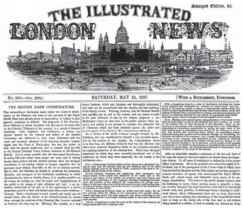 The Illustrated London News for 23 May 1857