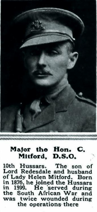 Major the Hon C Mitford DSO