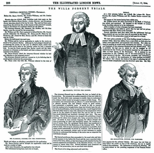 The Illustrated London News 13 April, 1844