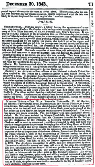 The Illustrated London News 30 December 1843