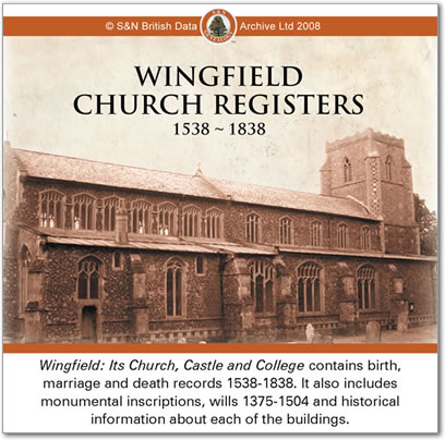 Wingfield Church Registers