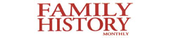Family History Monthly logo