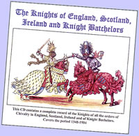 Kathy Chater's guide to recent releases Knights of the Realm