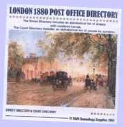 London 1880 Post Office Directory cover
