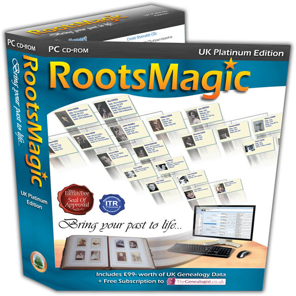 Software Releases: RootsMagic UK Version 7