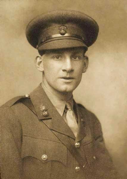 Portrait of Siegfried Sassoon