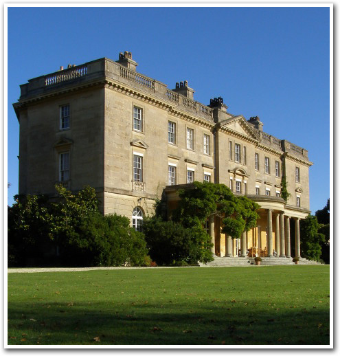 view of exbury house